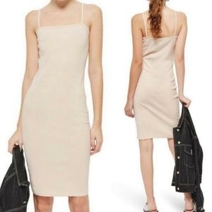 Topshop Bodycon Blush Cami Dress NWT